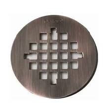 "Oatey 4-1/4"" Oil Rubbed Bronze Finish - Shower Drain Cover / Strainer"