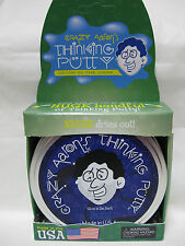 "AURA GLOW IN THE DARK Crazy Aaron's Thinking Putty Large 4"" tin 3.2oz New in tin"