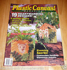 PLASTIC CANVAS MAGAZINE~Vintage Issue Jan.-Feb.1993~No. 24~FREE SHIP