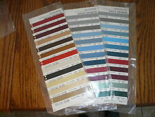 1976 1977 1978 Chrysler Corp Sherwin-Williams Color Chip Paint Sample