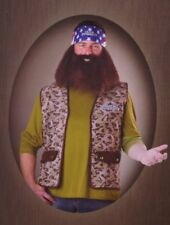 Duck Dynasty Willie Robertson Adult Mens Halloween Costume Bandana Wig Beard NEW