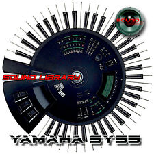 YAMAHA SY99 HUGE Original Factory & New Created Sound Library/Editors on CD