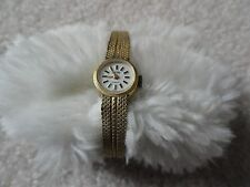 Swiss Made Alvarex 17 Jewels Incabloc Wind Up Ladies Vintage Watch