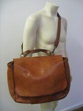 RALPH LAUREN Vintage Style USPS Oversized Leather Mail Messenger Bag