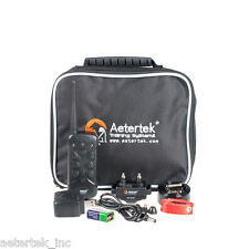 Aetertek Dog Electric Train Shock Collar Control Waterproof Rechargeable No bark