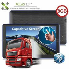 7'' Car/Truck GPS Navigation 8GB Navigator w/Bluetooth HD Capacitive Touchscreen