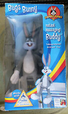 Bugs Bunny Instant Messaging Buddy Talking Toy AOL Looney Tunes Internet RARE