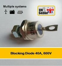 Blocking Diode 40Amp, 600V Solar Panel, Wind Turbine, Battery,  UK SELLER