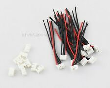 10 PCS 3S1P 3S 1P Balance Charger Cable 22 AWG Silicon Wire JST XH Plug