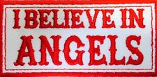 Hells Angels I BELIEVE IN ANGELS Aufnäher Patch Original 81 Support