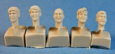 Bare Heads (1940's hairstyles), 35021 Ultracast Resin 1/35