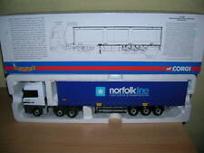 Corgi Mercedes Benz Actros Curtainside - Norfolkline Limited Edition 1:50
