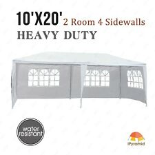 10'x20' Canopy Party Wedding Tent Heavy Duty Gazebo Pavilion Cater Outdoor Event