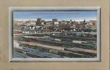 Postcard Manitoba Winnipeg CPR Freight Yards & Wholesale Dist ca1907-15