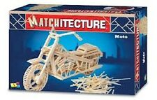 Matchitecture Moto Motorcyle Matchstick Model Craft Kit Motorbike NEW