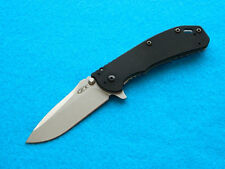 Zero Tolerance 0566 Framelock Folding Knife! Awesome Flipper Design w/ Elmax!
