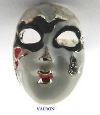 ATTRACTIVE VENETIAN MASQUERADE MASK RING - ADJUSTABLE SIZE