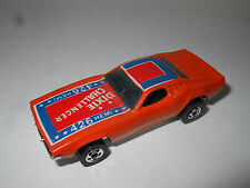 1980 's Hot Wheels Blackwall Loose Dixie Challenger no flag
