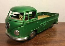 Vintage Bandai Tin Friction Volkswagen VW Pick Up Truck Transporter Japan Nice