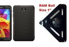 "SlipGrip RAM 1"" Ball Mount For Samsung Galaxy Tab 4 8.0 Using OtterBox Defender"