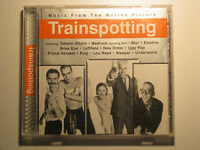 TRAINSPOTTING CD 1996 Capitol Motion Picture Music Brian Eno Iggy Pop Blur Pulp