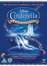 CINDERELLA TRILOGY DVD BOX SET COLLECTION PART 1 2 3 WALT DISNEY ORIGIN