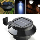Auto Sensor Solar 3 LED Lamp Outdoor Path Stairway Yard Garden Decor Powered