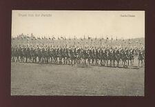 Germany Gruss von der Parade Military Garde-Ulanen c1900s? PPC