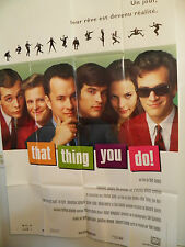 THAT THING YOU DO  Large French Poster 1996 TOM HANKS LIV TYLER 60's rock n roll