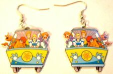 Scooby Doo Earrings Shaggy Fred Velma Daphine Van Charms