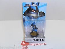 Lucario amiibo Figure First Print USA Edition | NiB Very Rare Mint Condition