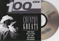 CD CARDSLEEVE COUNTRY 20T HANK WILLIAMS/WILLIE NELSON/MONROE/TUBB  NEUF