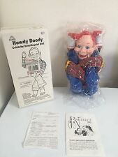 Howdy Doody National Broadcasting Co EEGEE Ventriloquist Doll Dummy Puppet