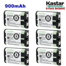 6xKastar Cordless Phone Battery NI-MH 3.6V 900mAh For Panasonic HHR-P107 Type 35