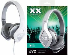 JVC HA-SR100X SILVER On-Ear Club style Headphones Remote & Microphone /Brand New