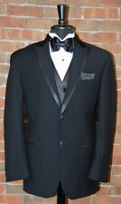 MENS 37 R  PROTOCOL by RALPH LAUREN SLIM FIT PEAK LAPEL TUXEDO DINNER JACKET