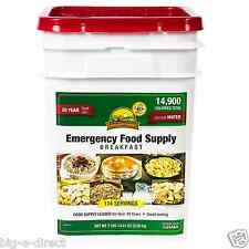 Augason Farms 162 Servings Emergency Food Storage Supply Dried Breakfast Pail