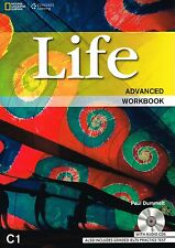 CENGAGE Learning LIFE Advanced WORKBOOK w Audio CDs Includes IELTS Test NEW 2014