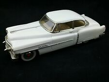 Vintage Fifties White Cadillac Coupe Tin Toy, 50s, Made in Japan, Friction Car