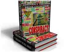 Conspiracy Theories Ebook Collection - Huge Collection 100s on DVD Theory New