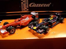 Carrera Go Autos Formel 1 Red Bull RB7 Vettel, No.1 + Ferrari Alonso, No.5, NEU