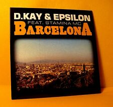 Cardsleeve Single CD D. KAY & EPSILON Barcelona 2TR 2003 Break Beat Drum & Bass