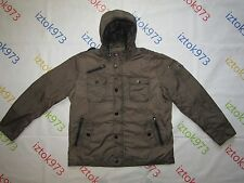 Wellensteyn Men's RETRO Urban Spring Proof Hooded Coat Trench Jacket sz XXXL
