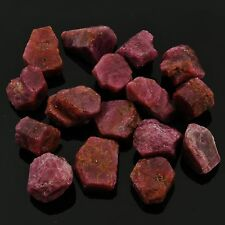 RUBY -1 Rough Natural Crystal 15-22 ct each Madagascar w/ Healing Property Card