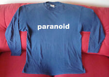 Original 1999 Garbage Paranoid long sleeve T-Shirt Version 2.0 European tour, UK