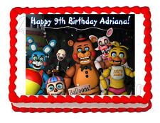 Five nights at Freddy's FNaF 3 party edible image cake topper frosting sheet