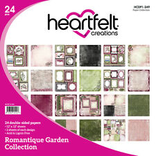 "Heartfelt Creations Romantique Garden 12""x12 Cardstock Paper Collection *Retired"