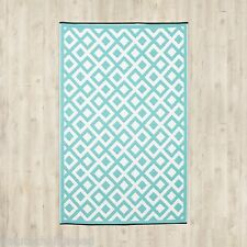 Fab Habitat Light Blue/White Indoor/Outdoor Area Rug - 150x240cm