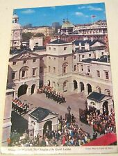 England Horseguards Whitehall The changing of the guard L-DM324 Colourvision - p