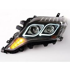 LED Projector DRL Xenon HID Headlights For Toyota Land Cruiser Prado 2014~2016
